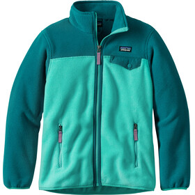 Patagonia Kids Lightweight Synchilla Snap-T Jacket Strait Blue